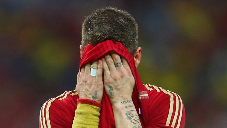 Ramos: Devastated after elimination