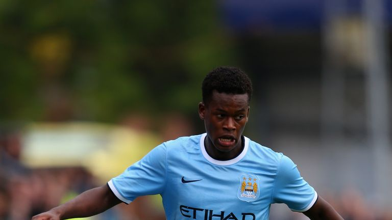 Ashley Smith-Brown has been at Man City since the age of 10
