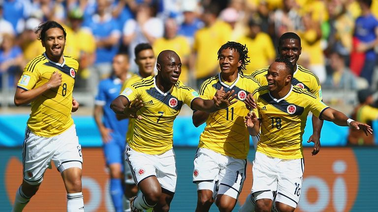 Pablo Armero: Opens the scoring for Colombia early on against Greece