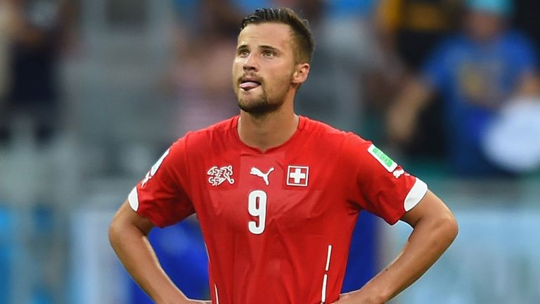 Transfer news: Eintracht Frankfurt sign Switzerland forward Haris Seferovic from Real Sociedad | Football News | Sky Sports