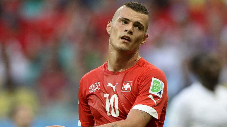 Xhaka helped Switzerland win the 2009 U17 World Cup before stepping up to senior duty