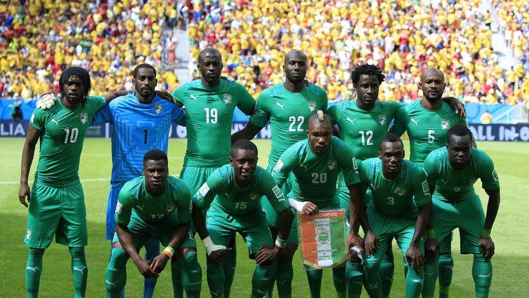 Ivory Coast's team