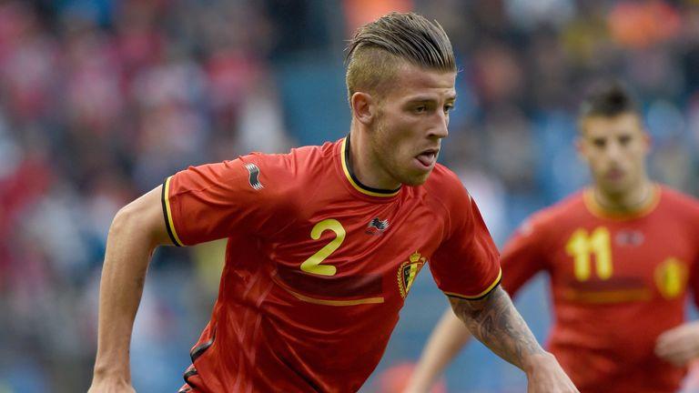 Belgium's defender Toby Alderweireld