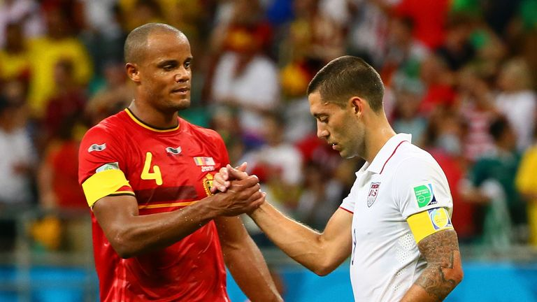 USA's Dempsey after World Cup exit to Kompany's Belgium