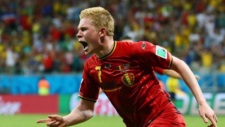 De Bruyne: One of Belgium's key players
