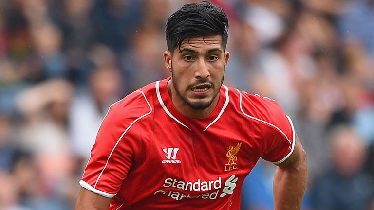 Emre Can: Hoping to spend many years at Anfield