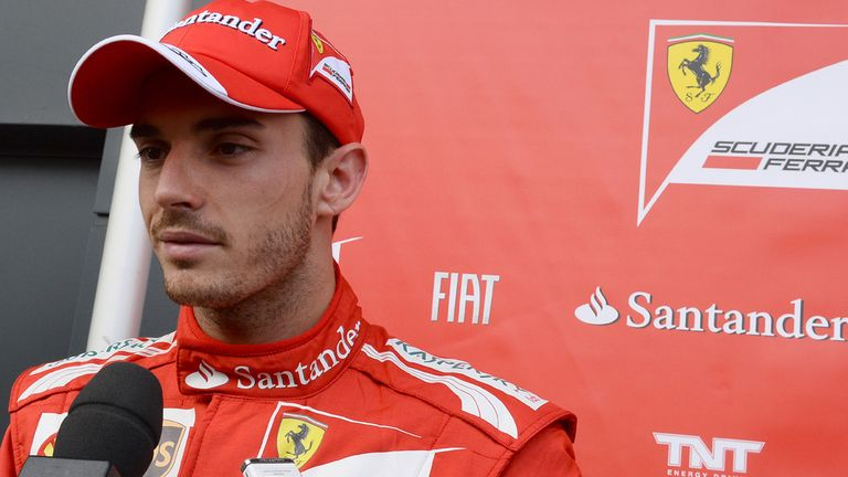 Jules immediately impressed when he tested for Ferrari 12 months ago