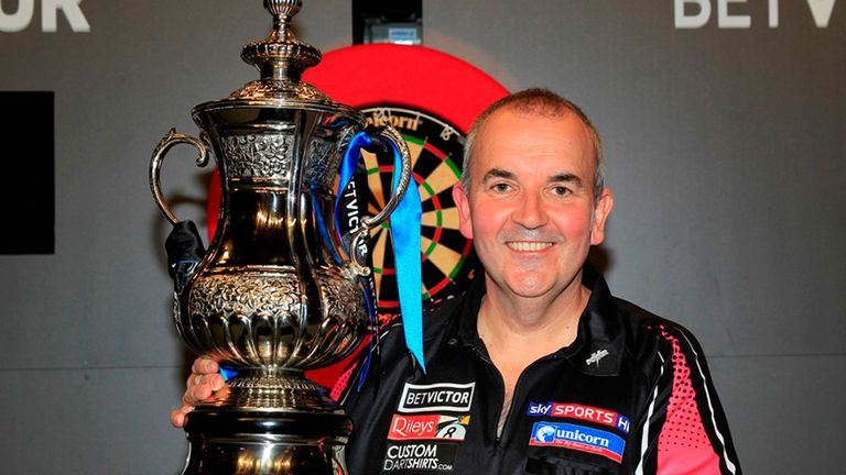 Phil Taylor is chasing Matchplay title No 16 and begins against Gerwyn Price