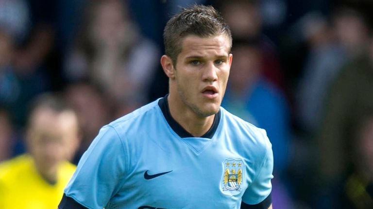Bruno Zuculini netted Manchester City's second goal against Adelaide United