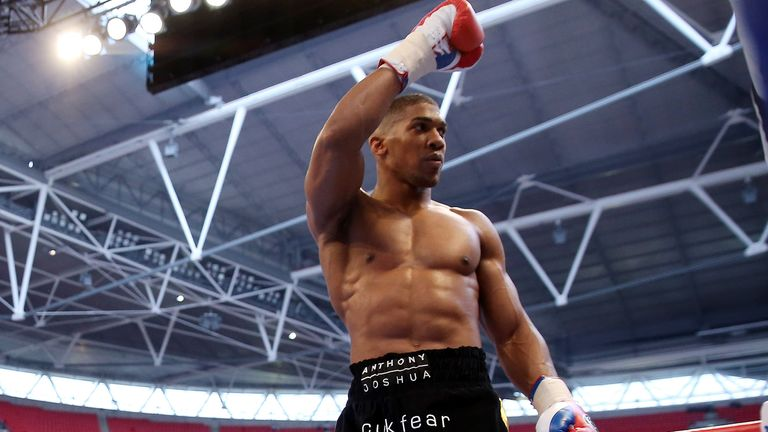 Anthony Joshua: Looking forward to Manchester debut