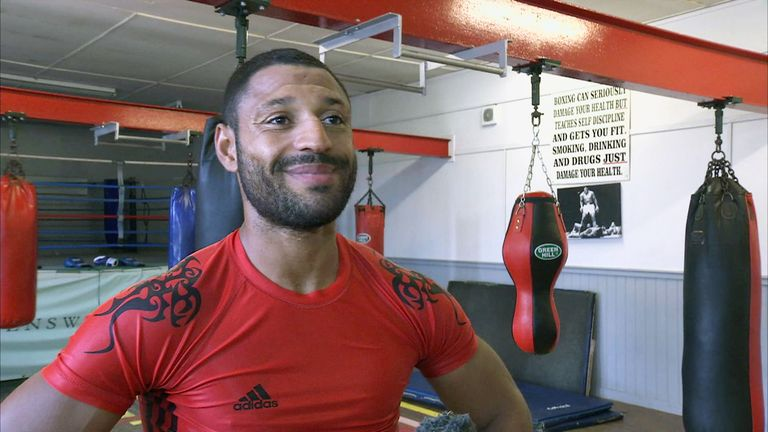 Kell Brook: Looking forward to facing IBF Welterweight champion Shawn Porter