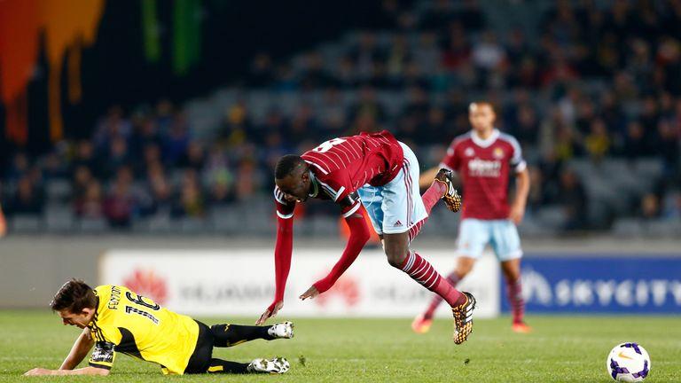 Cheikhou Kouyate: Started for West Ham
