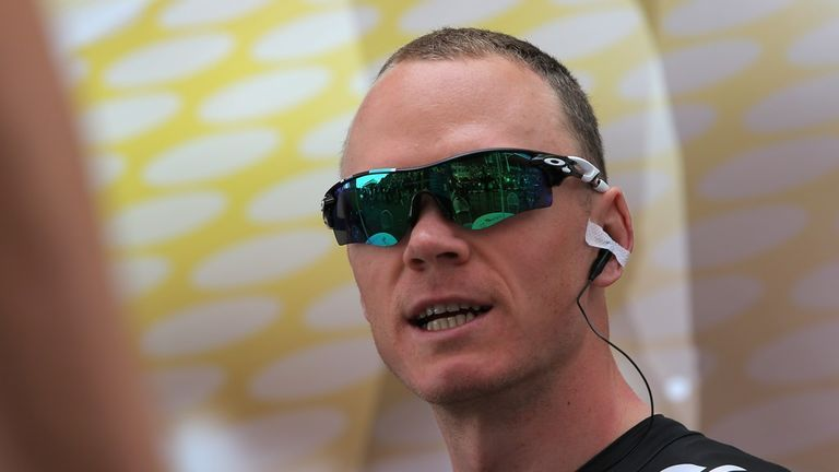 Chris Froome inadvertently revealed he is keen to ride the Vuelta a Espana