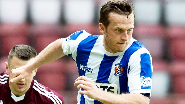 Sammy Clingan: Kilmarnock midfielder has signed a new deal with the club