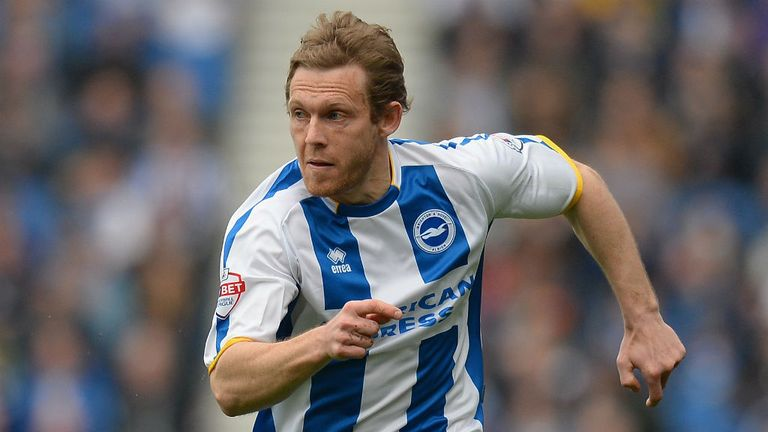 Craig Mackail-Smith: On the scoresheet for The Seagulls.