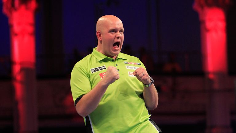 World number one Michael van Gerwen lost out to Phil Taylor in last year's World Matchplay final