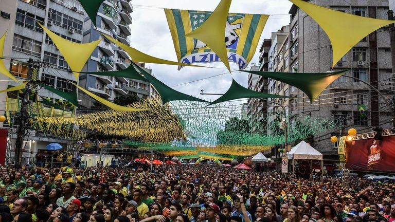 Brazil's fans react to their World Cup defeat