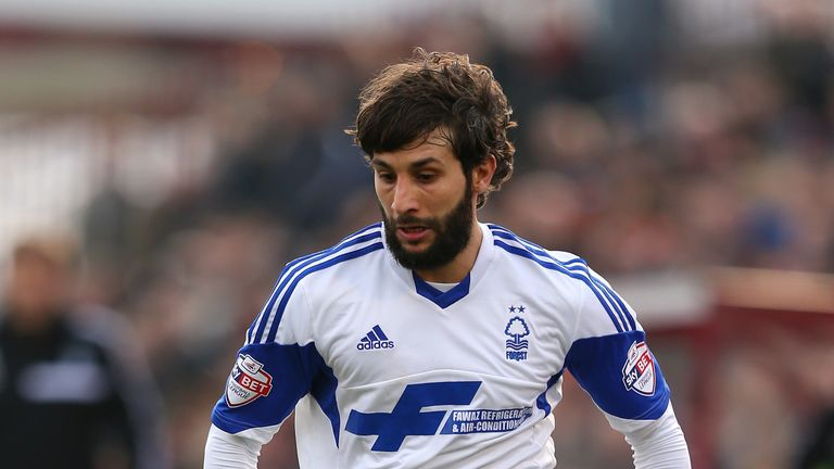 Djamal Abdoun: Set to leave Forest