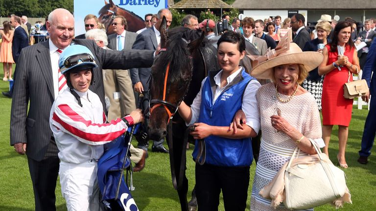 Slade Power ridden by Wayne Lordan wins Darley July Cup during the Darley July Cup Day of the July Festival at Newmarket Racecourse. PRESS ASSOCIATION Phot