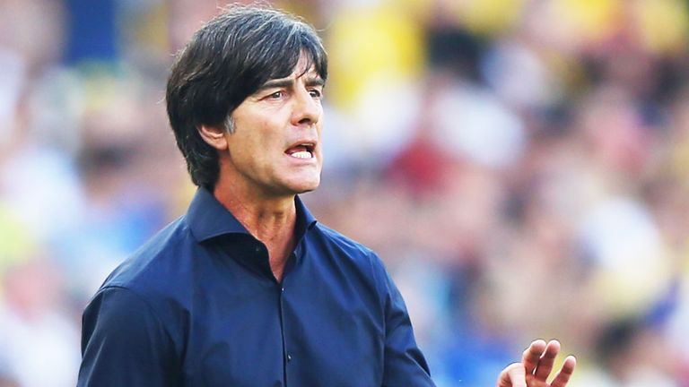Joachim Low: Germany coach is confident his team can beat Brazil to reach the World Cup final