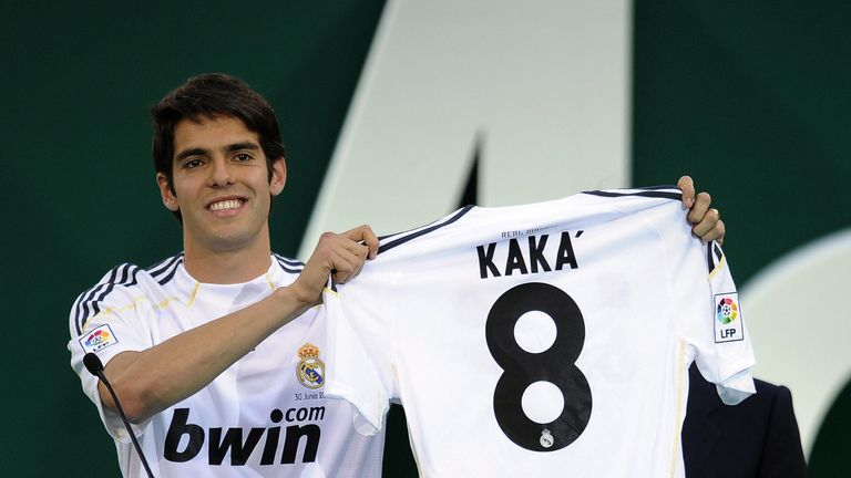 A star at AC MILAN, KAKA became the then-2nd most costly player ever when REAL MADRID paid £50m for him. He lasted 4 underwhelming years before returning.