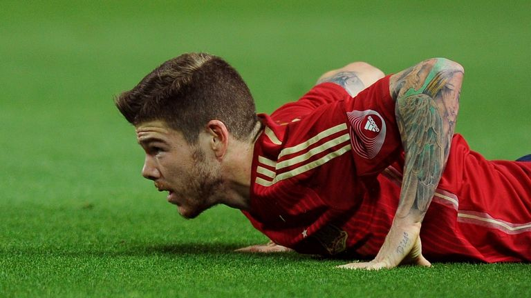 ALBERTO MORENO: Another move that has gone off the boil is for left-back Moreno. Sevilla have named their asking price, but the Reds look unlikely to budge