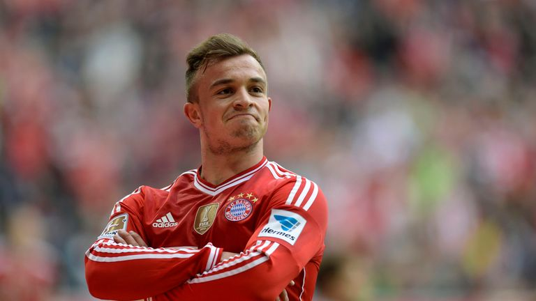XHERDAN SHAQIRI: The Swiss World Cup star is open to a move from Bayern, who are willing to sell. He'd slot excellently into an attacking Liverpool line-up