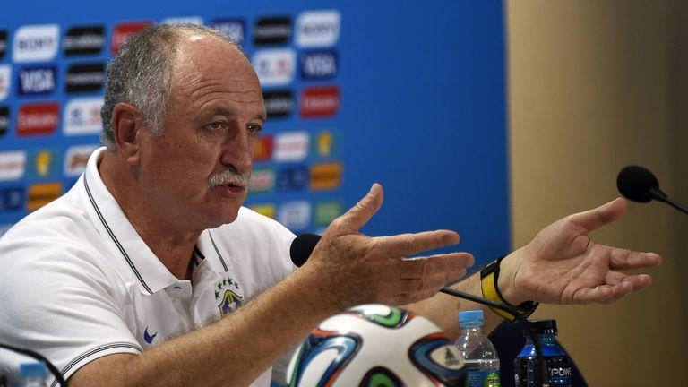 Luiz Felipe Scolari, press conference before Brazil v Germany, FIFA World Cup 2014, Belo Horizonte