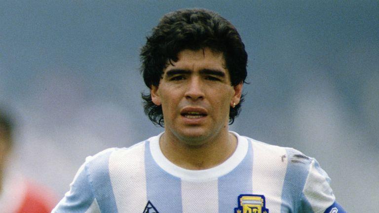 Tottenham Nearly Signed Diego Maradona Says Teddy Sheringham Football News Sky Sports
