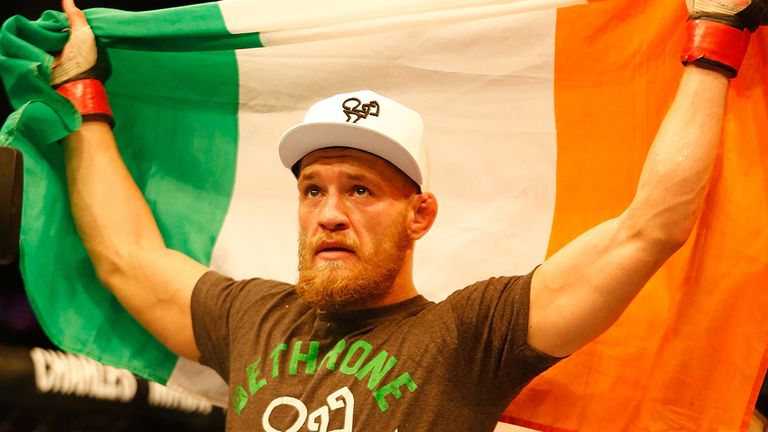 Conor McGregor will be fighting Jose Aldo for the world title