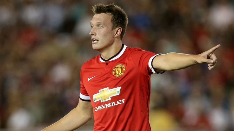 Phil Jones has made no errors leading to shots or goals this season for Manchester United