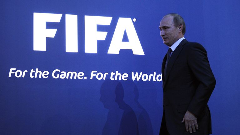 Russia won the right to host the 2018 World Cup four years ago