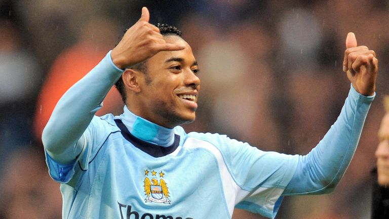 Robinho signed for Manchester City from Real Madrid on Deadline Day in 2008
