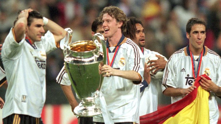 A trailblazer for British players going abroad, STEVE MCMANAMAN won 2 Champions Leagues and 2 La Liga titles after joining REAL MADRID from LIVERPOOL.