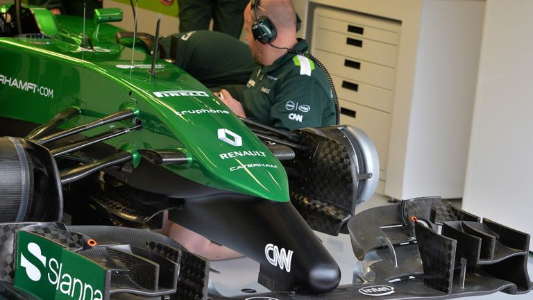 Caterham excused from taking part in Austin and Brazil