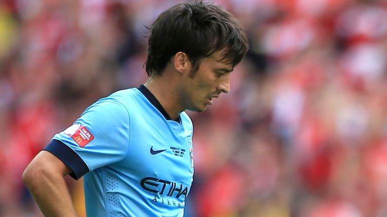 David Silva: Insists title pressure is on Chelsea