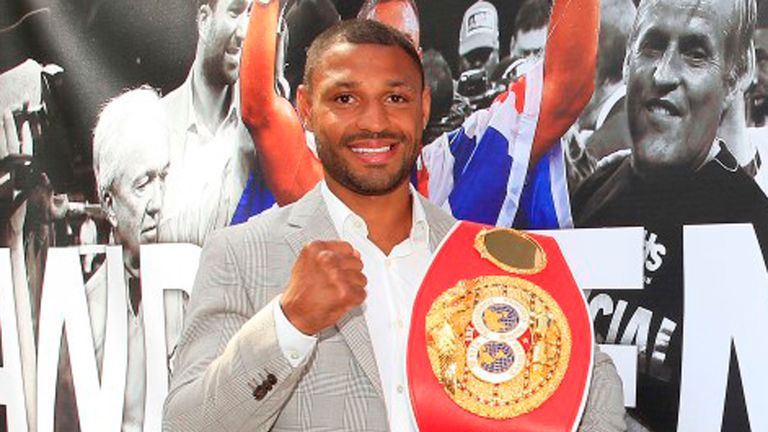 Kell Brook: Crowned as the IBF champion last month