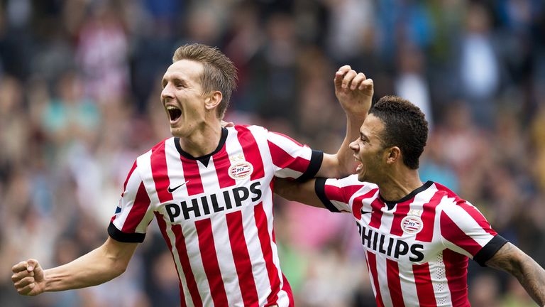 Luuk de Jong:  Scored the first for the away side