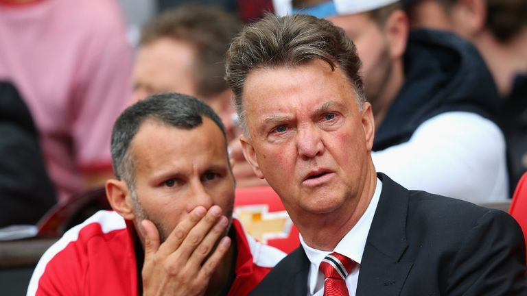 Van Gaal: Suffered a 2-1 defeat at home to Swansea in his first league game