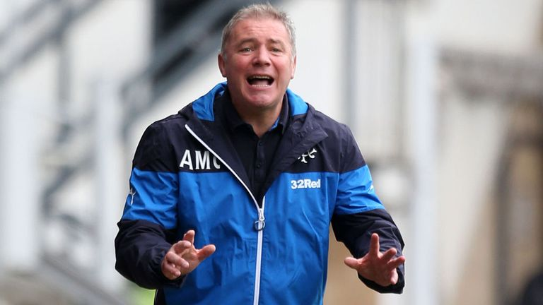 Ally McCoist says Rangers fans should not expect an easy ride in the Championship this season
