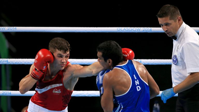 Scott Fitzgerald attacks on his way to Commonwealth Games gold in Glasgow