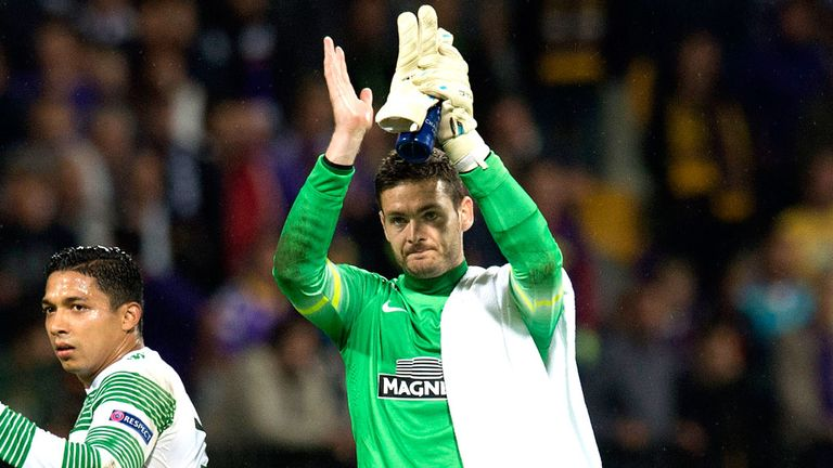 Craig Gordon did superbly to keep a clean sheet against Dinamo Zagreb