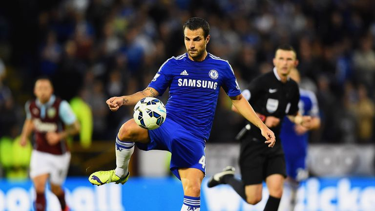 Cesc Fabregas starred in Chelsea's opener at Burnley with two assists