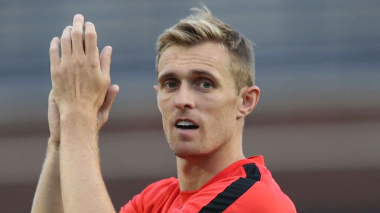 ANN ARBOR, MI - AUGUST 01:  Darren Fletcher of Manchester United in action during an open training session