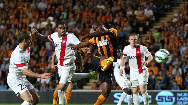 Sone Aluko fires home his vital late winner