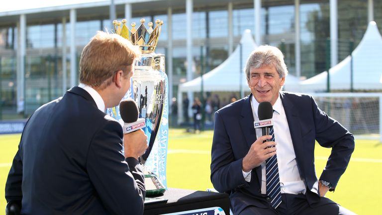 Manuel Pellegrini: Interviewed by Sky Sports' Ed Chamberlin on Wednesday