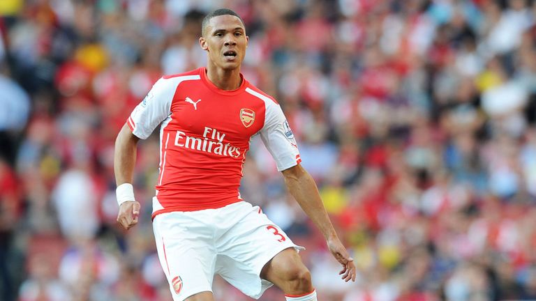 Kieran Gibbs: Arsenal defender suffered a hamstring injury against Crystal Palace