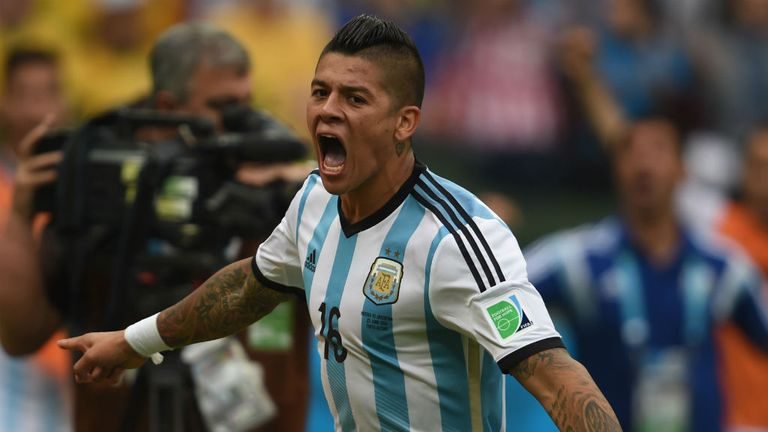 Marcos Rojo Argentina