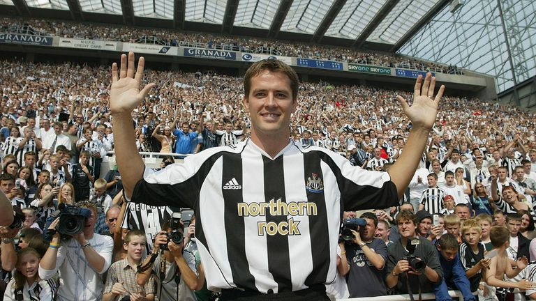 Michael Owen: Hampered by injury