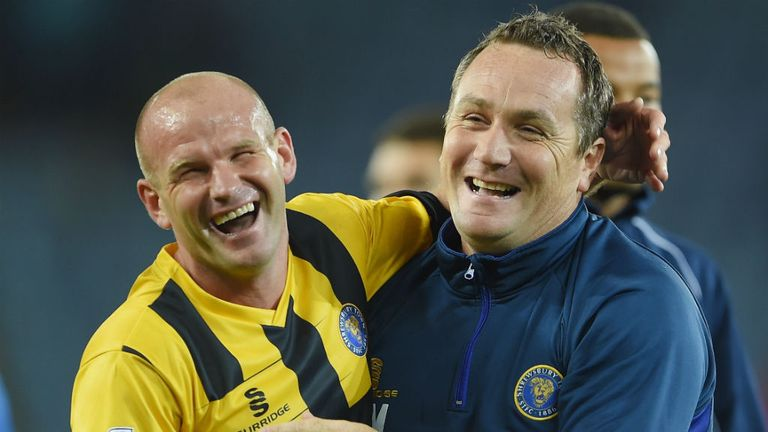 Micky Mellon: Shrewsbury celebrate shock win